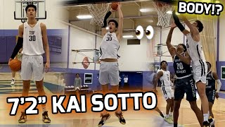 """7'2"""" Kai Sotto CAUGHT A BODY!? International Prospect Making His Case For BEST BIG IN THE COUNTRY 💯"""