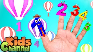 Numbers Finger Family Rhymes