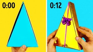 16 SUPER FAST GIFT WRAPPING IDEAS