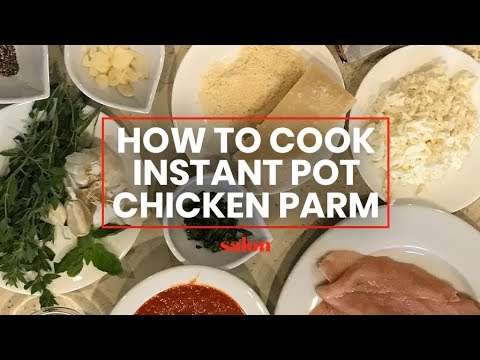 How to cook Melissa Clark's Chicken Parmesan recipe in the Instant Pot