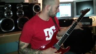 John Caci guitar solo instrumental in the studio
