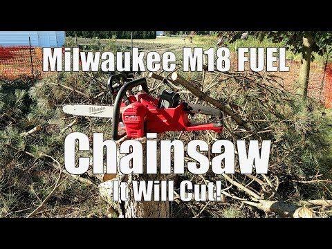 Real World Cutting | Milwaukee M18 FUEL 16″ Chainsaw Kit Review 2727-21HD