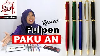 Review Souvenir Pen Paku An – Pulpen Paku Besi