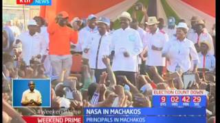NASA holds several rallies in Machakos County