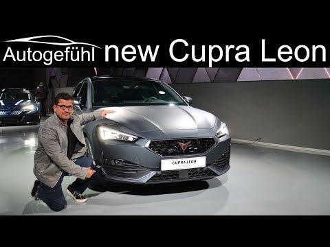 all-new Cupra Leon Premiere Exterior Interior Hatch e-Hybrid vs Sportstourer TSI - Autogefühl