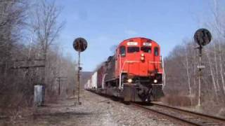 preview picture of video 'WNYP DFT Southbound at Larabee'