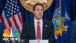 New York Gov. Andrew Cuomo Holds Coronavirus Briefing   NBC News