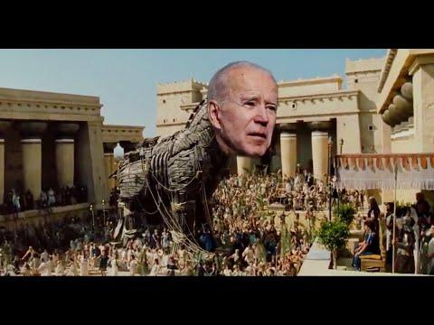 Donald Trump keeps pushing BONKERS idea that Joe Biden is a Trojan Horse for Bernie Sanders
