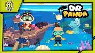 Dr.Panda Пришло время отправляться в отпуск Отдых на пляже c Best Kids Apps
