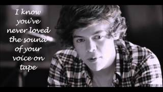 One direction - Little things Lyric video - Video Youtube