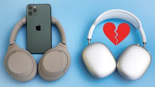 Sony XM4 OVER the AirPods Max for iPhone users. 10 reasons!