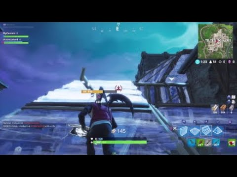 Fortnite Bush Camper Tries To Play Aggressive??? With ShaunCarter1