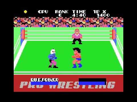 Champion Pro Wrestling (MSX, 1985 Sega)