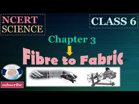 Happyclass - Fibre to Fabric, Science, CLASS 6 - NCERT CBSE