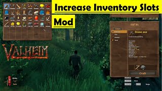 Valheim Increase Inventory Slots Mod - How to Install and Gameplay