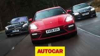 [Autocar] Porsche Panamera Turbo v BMW M6 v Mercedes-AMG S 63: Ultimate luxury sports cars tested