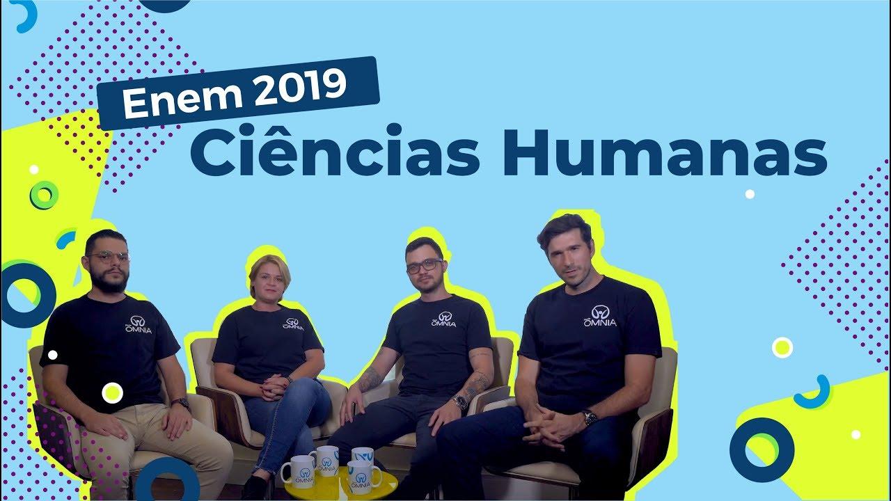 Como estudar Ciências Humanas para o Enem