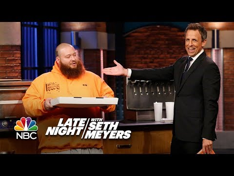 Action Bronson Brings Seth Baked Ziti Pizza from Queens