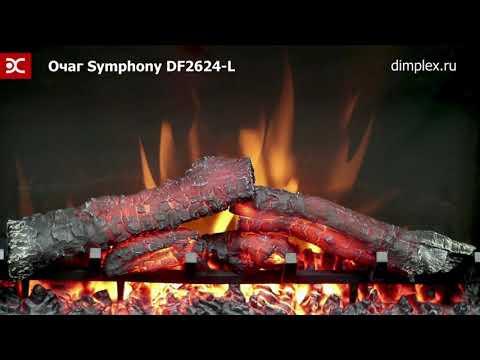 Камин Dimplex Country - Орех/Сланец белый с Symphony 26