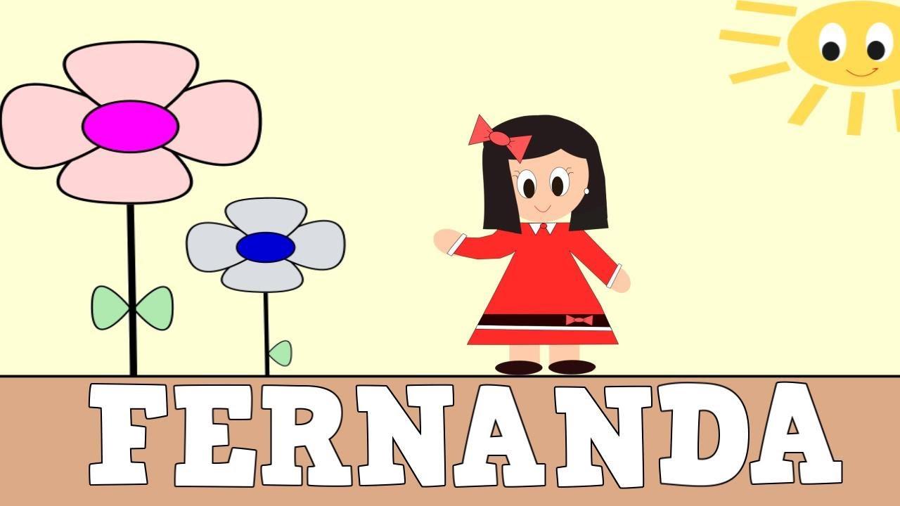 Aprender a Leer y Escribir FERNANDA- Vídeos educativos para Niñosy Bebés - Paty y Poty