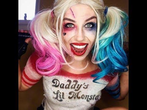 HARLEY QUINN Suicide Squad Makeup Timelapse