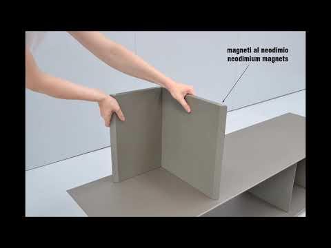 Ronda Design - Libera magnetic bookcase