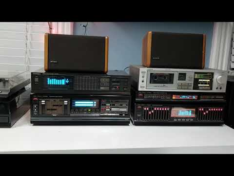 Vintage Stereo System Demonstration (Studio Standard by Fisher)