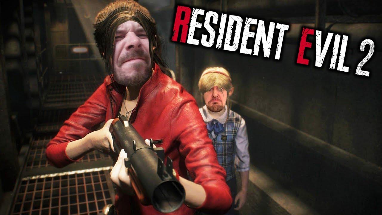 Resident Evil 2 (REmake) – Der komplette Playthrough in einer Nacht (Leon A)