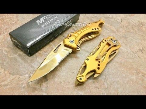 MTech Golden Knife Review