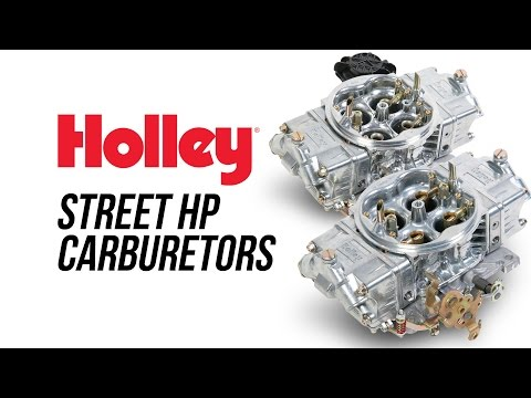 Holley Street HP Carburetors
