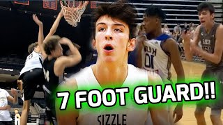 Chet Holmgren Is NOT Your Normal 7 FOOTER! Shoots & Handles Like A GUARD!!