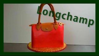 Longchamp Handbag Cake - Designer Handbag Cake Longchamp - Gcf