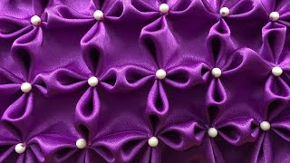 How To Sew Flower Pattern  - Canadian Smocking Cushion Cover