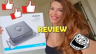 iRobot Braava 380t - Review ! sweeps and mops and changes your life !