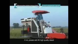 Kubota DC 60 Combined Harvester Operations Manual