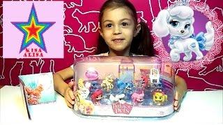 Принцессы Диснея Королевские Питомцы Распаковка и обзор игрушки Disney Princess Royal Pets