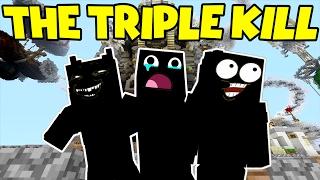 THE TRIPLE KILL !!! -|- Murder Mystery - Minecraft xbox