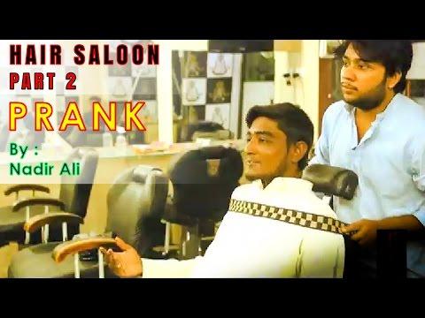 Hair Saloon Prank Part 2
