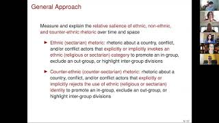 The Ethnicization of Syria's Conflict - A social media analysis
