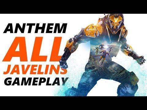 ANTHEM GAMEPLAY | Storm, Interceptor, Colossus & Ranger Gameplay | ANTHEM