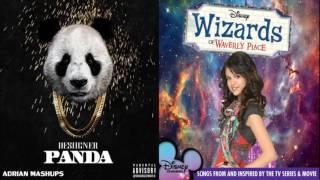 Panda vs Everything Is Not What It Seems Mashup Selena Gomez & Desiigner Wizard Of Waverly Place #se