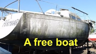 A free boat.