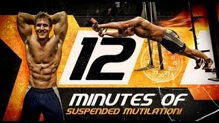 12 Minutes Of Suspended Mutilation! (Total Body- MAX Calorie burn workout) by ScottHermanFitness