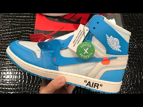 size 40 55a21 5a3cb Download StockX Off White Jordan 1 UNC unboxing   Are They Legit ! MP3