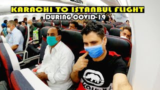 Karachi to Istanbul Flight with Turkish Airlines in COVID-19