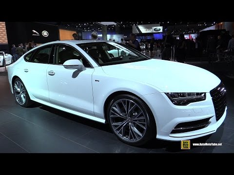 2015 Audi A7 TDI S-Line - Exterior and Interior Walkaround   2014 LA Auto Show