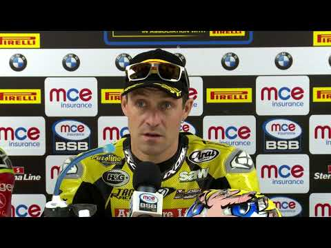 Silverstone RD9 Race 2 Press Conference