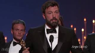 Oscars 2018: Best picture acceptance speeches
