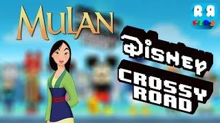 Disney Crossy Road NEW Character: Disney Mulan - Mulan - iOS / Android - Gameplay Video