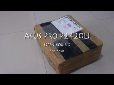 Asus Pro P2420LJ Open Boxing Indonesia